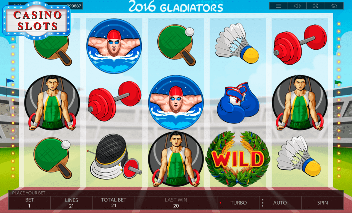 2016 Gladiators Online Slot
