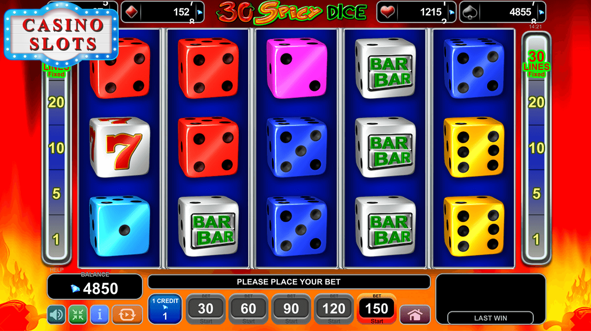30 Spicy Dice Online Slot