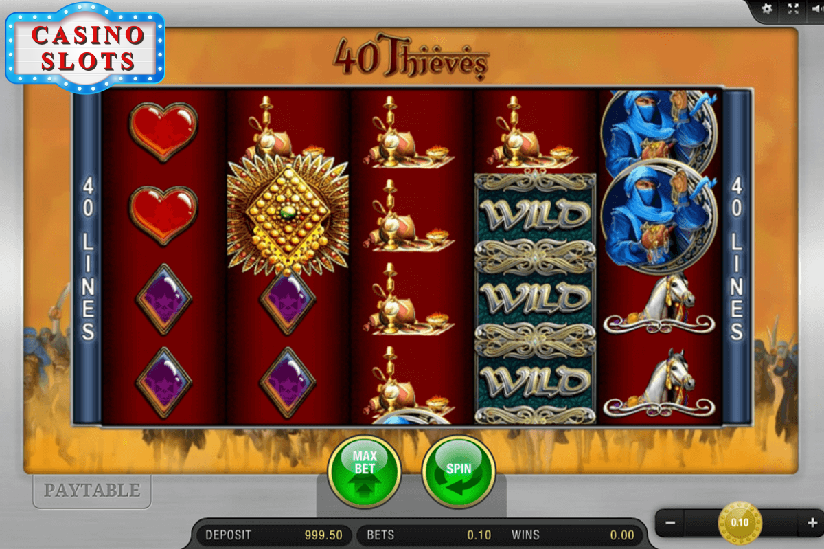40 Thieves Online Slot