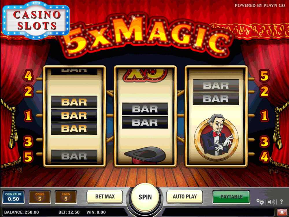 5x Magic Online Slot
