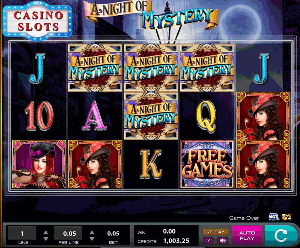 A Night of Mystery Online Slot