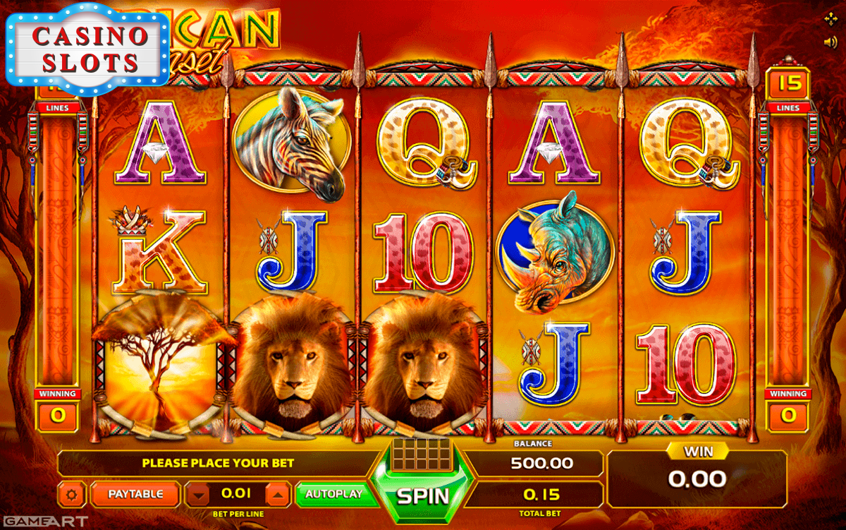 African Sunset Online Slot