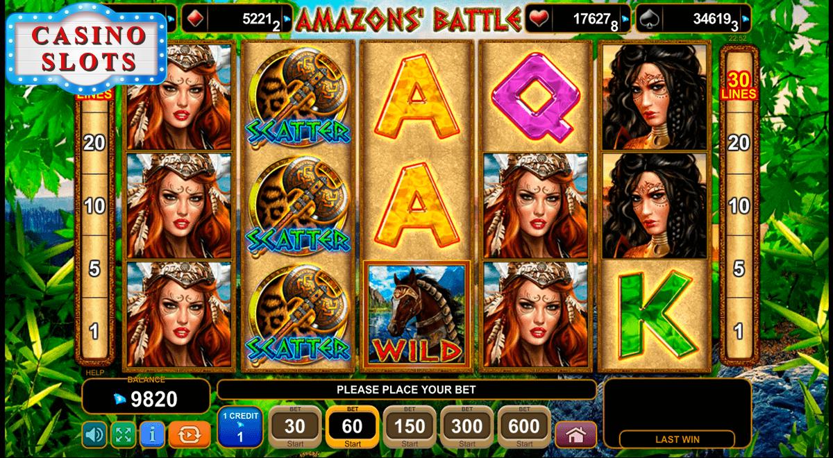 Amazons' Battle