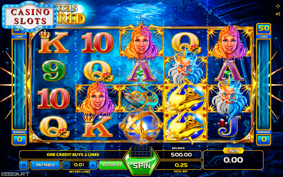 Atlantis World Online Slot