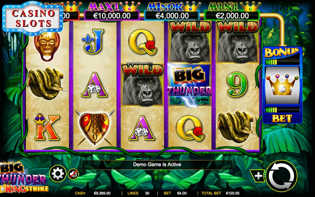 Big Thunder Online Slot