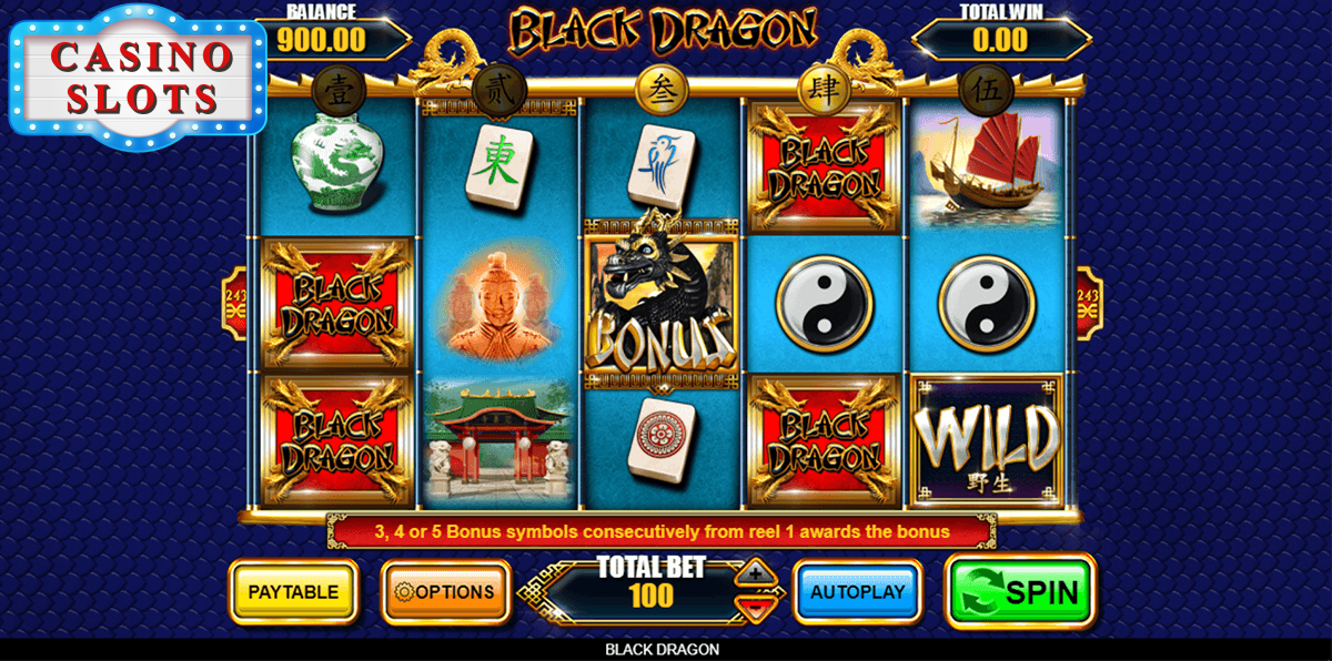 Black Dragon Online Slot