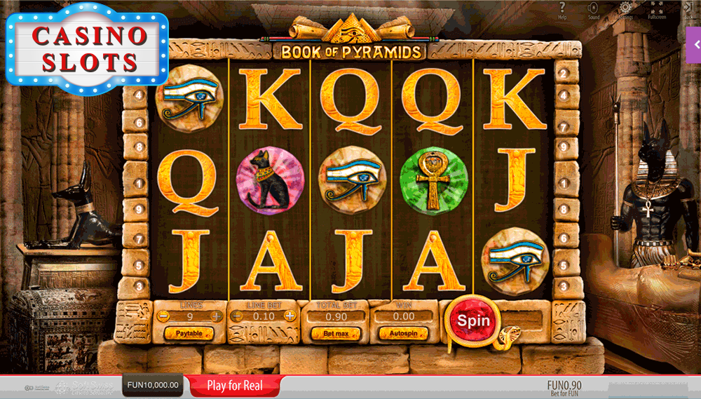 Book of Pyramids Online Slot
