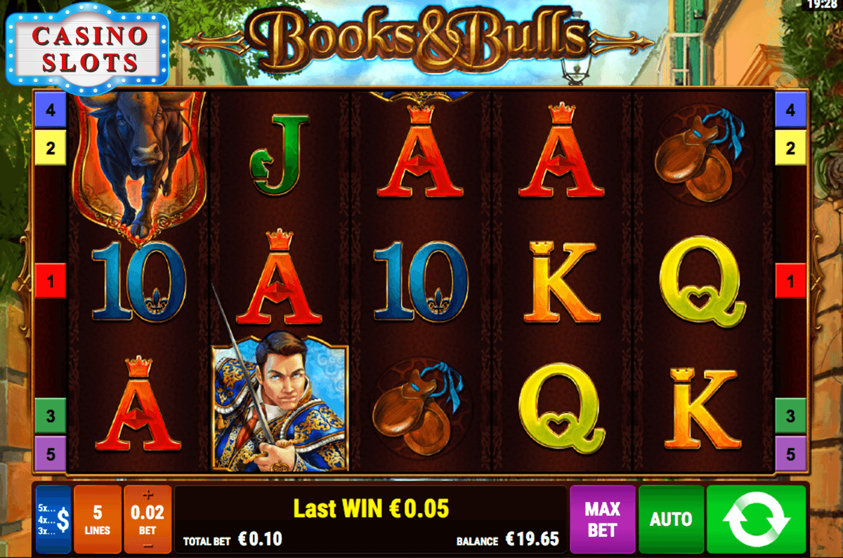 Books And Bulls Online Slot