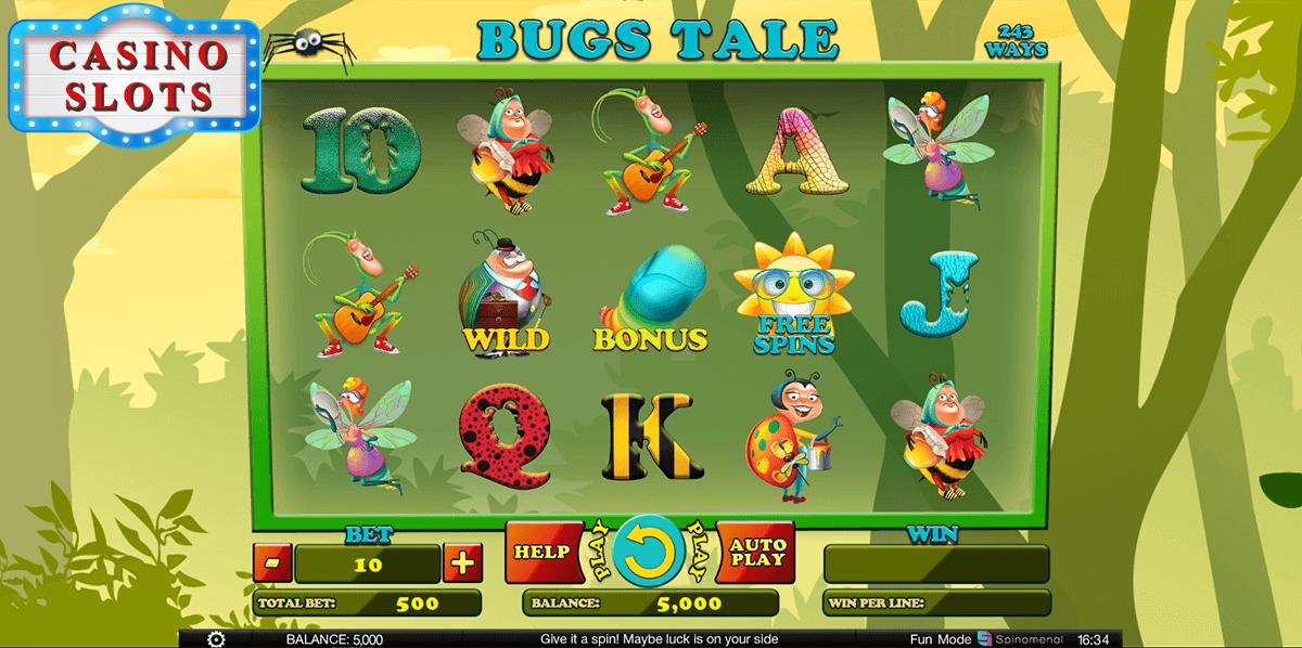 Bugs Tale Online Slot