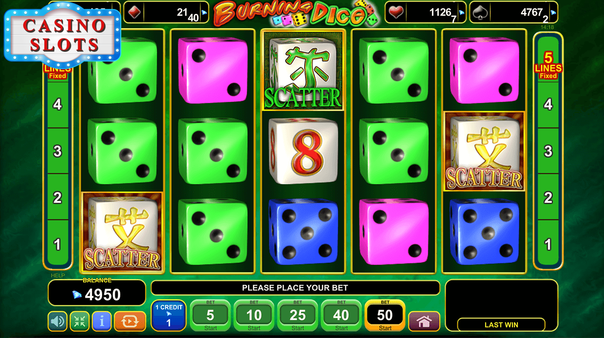 Burning Dice Online Slot