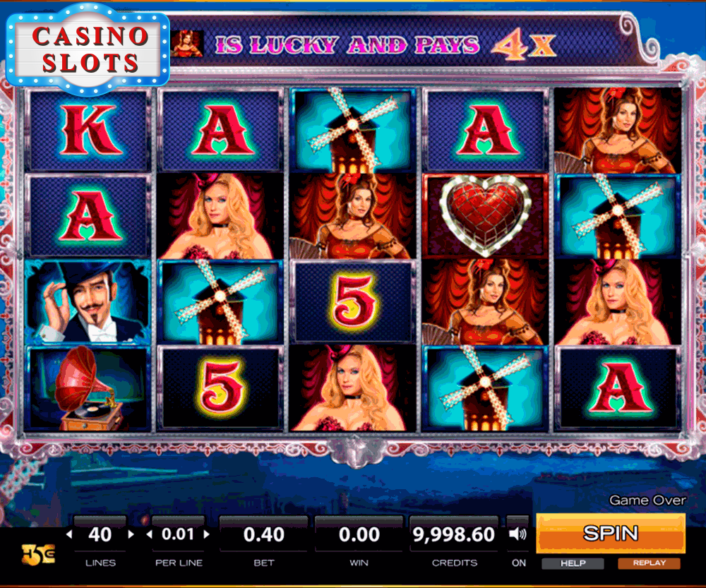 Cabaret Nights Online Slot