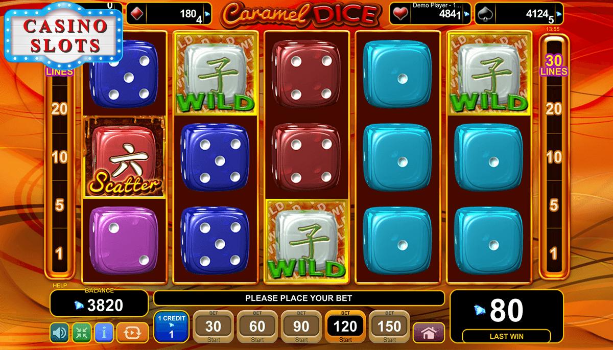 Caramel Dice Online Slot