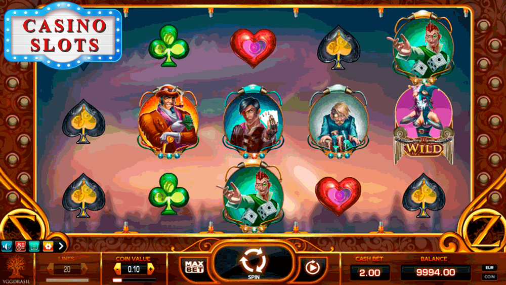 Cazino Zeppelin Online Slot