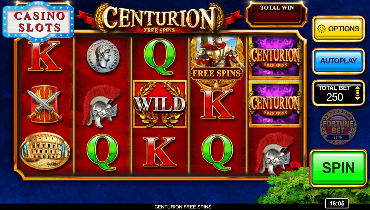 Centurion Free Spins Online Slot