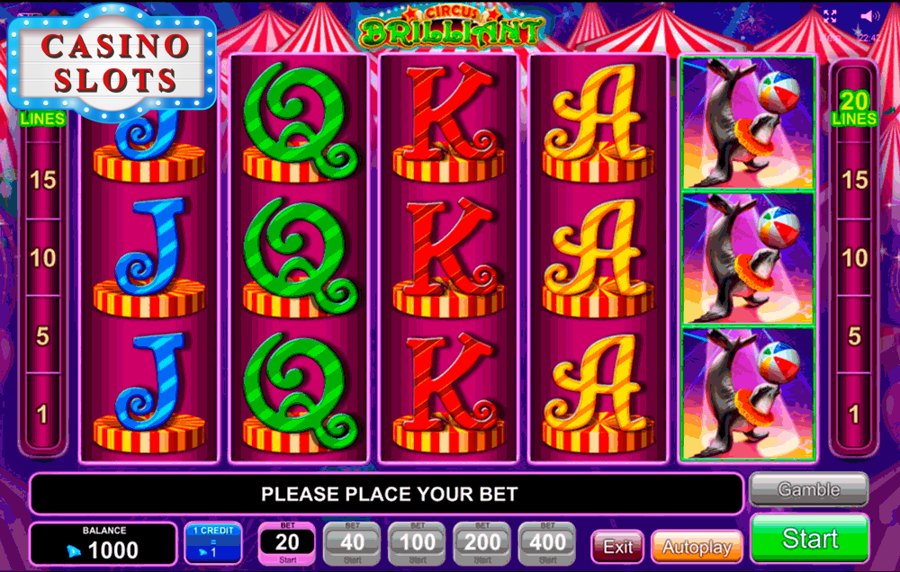 Circus Brilliant Online Slot