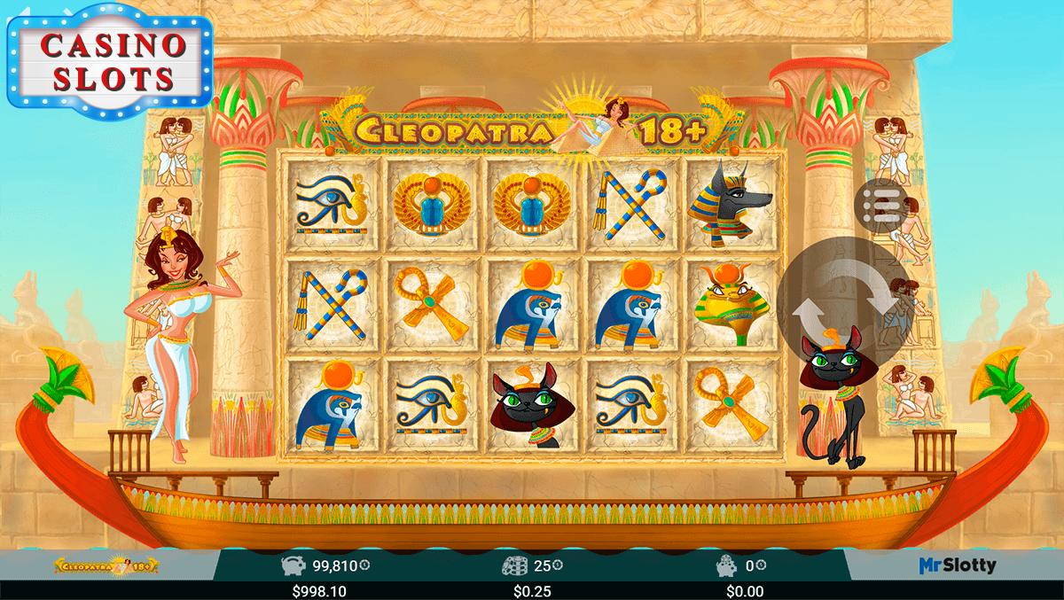 Cleopatra 18+ Online Slot