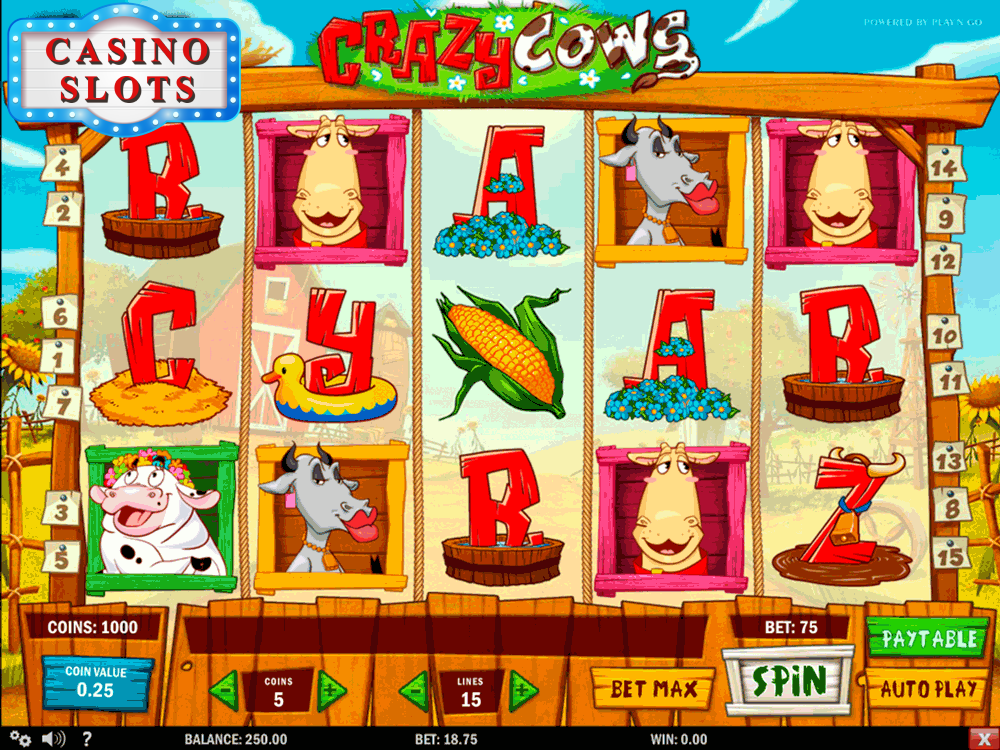 Crazy Cows Online Slot