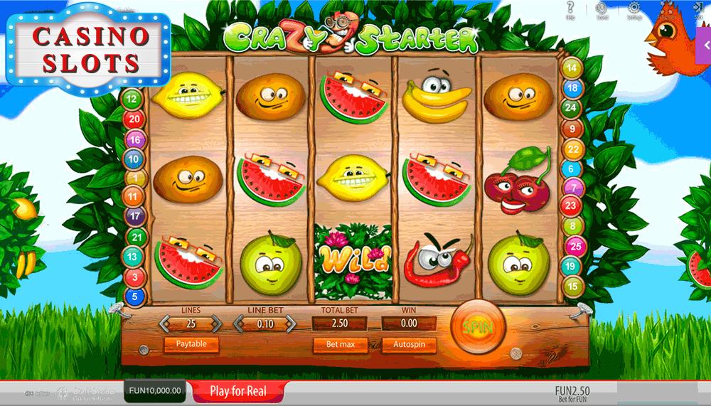 Crazy Starter Online Slot