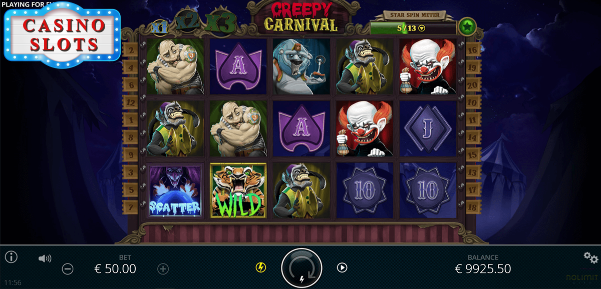 Creepy Carnival Online Slot