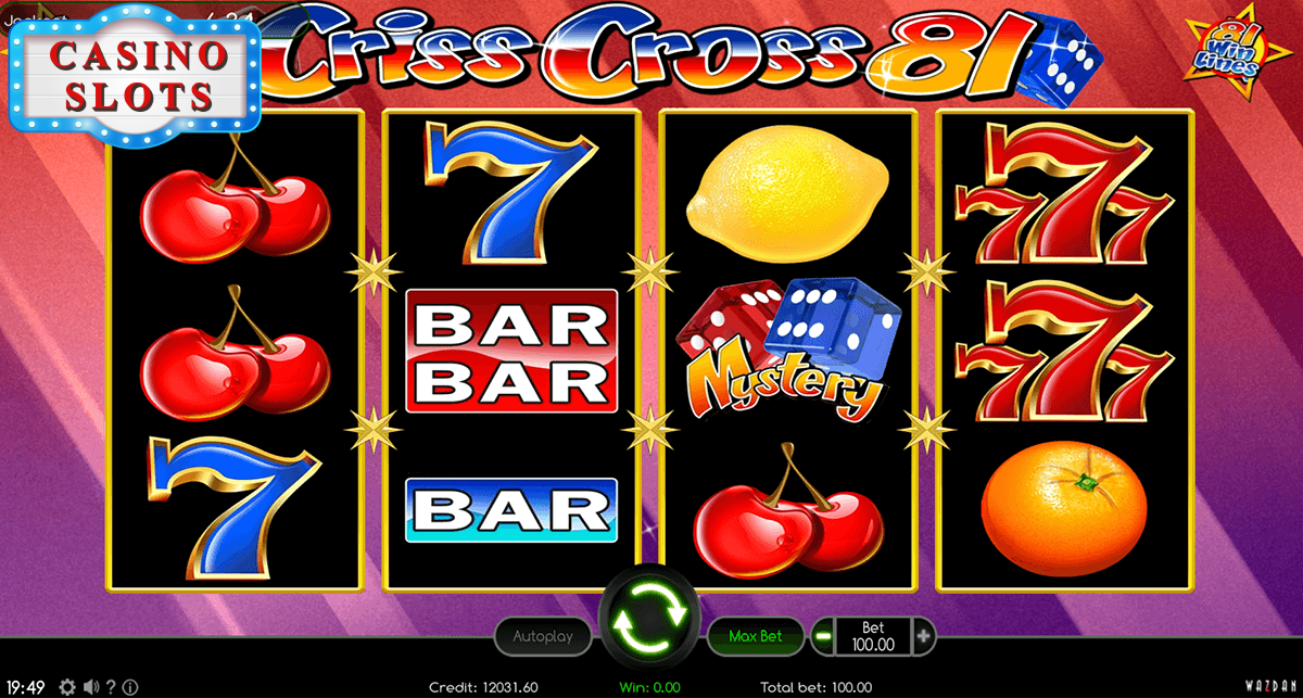 Criss Cross 81 Online Slot