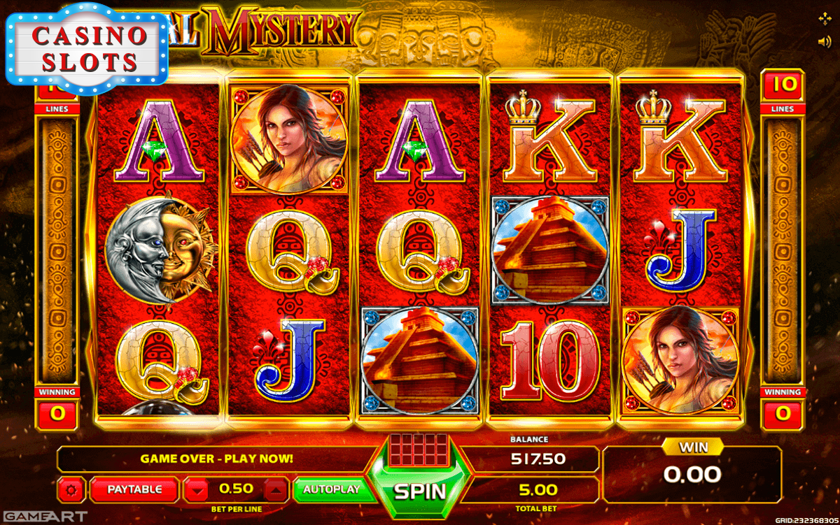 Crystal Mystery Online Slot
