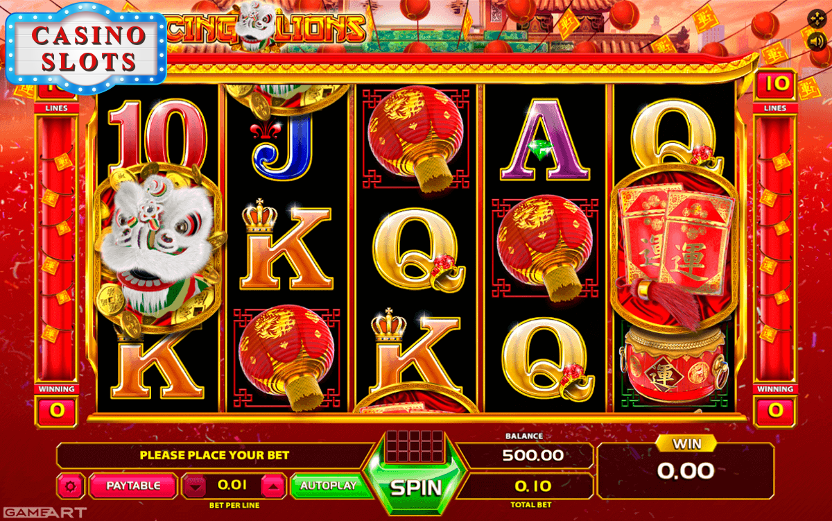 Dancing Lion Online Slot