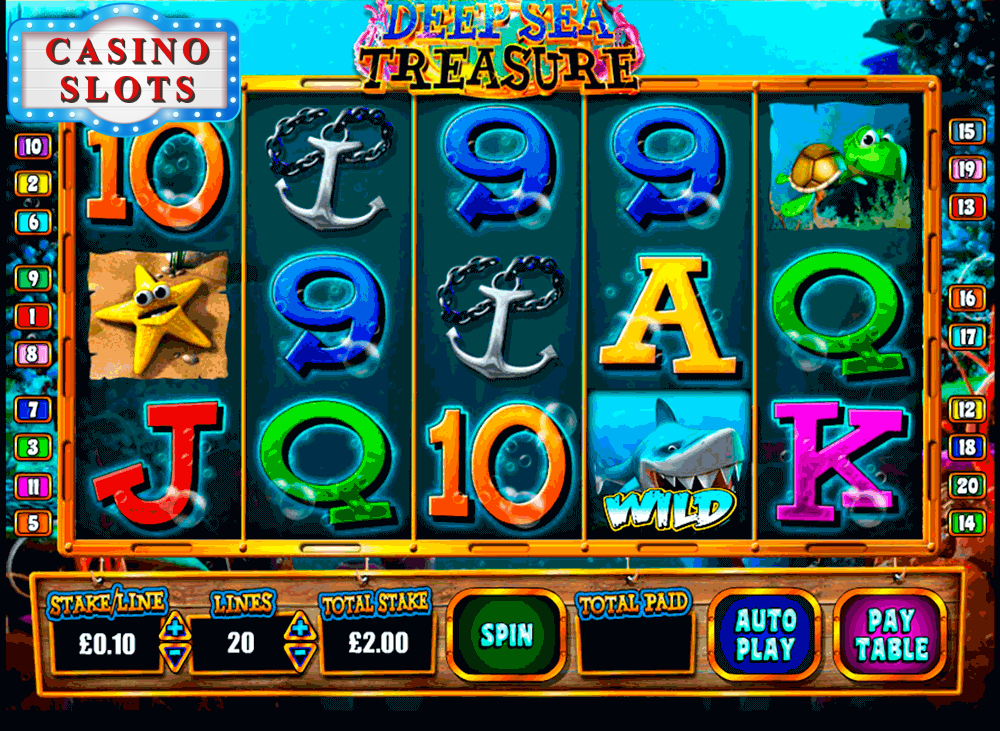 Deep Sea Treasure Online Slot