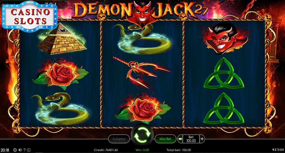Demon Jack 27 Online Slot
