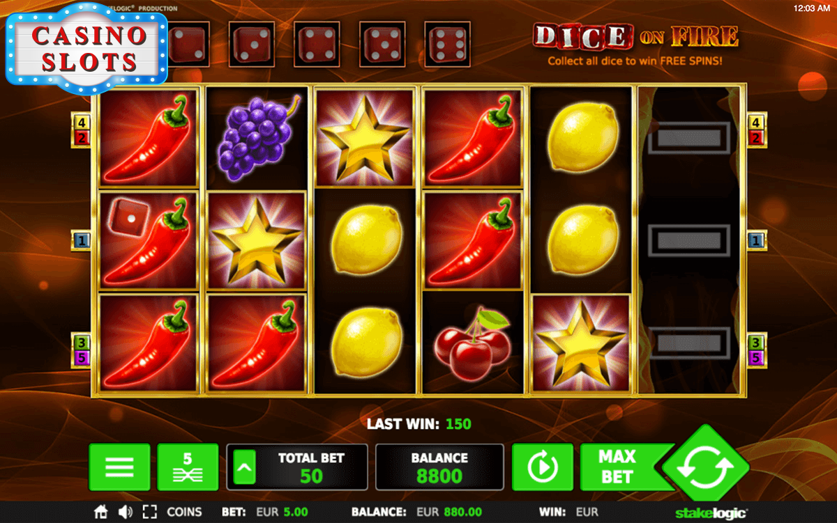 Dice on Fire Online Slot