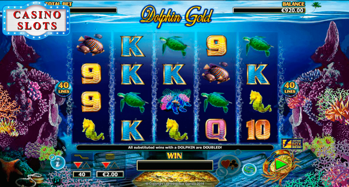 Dolphin Gold Online Slot