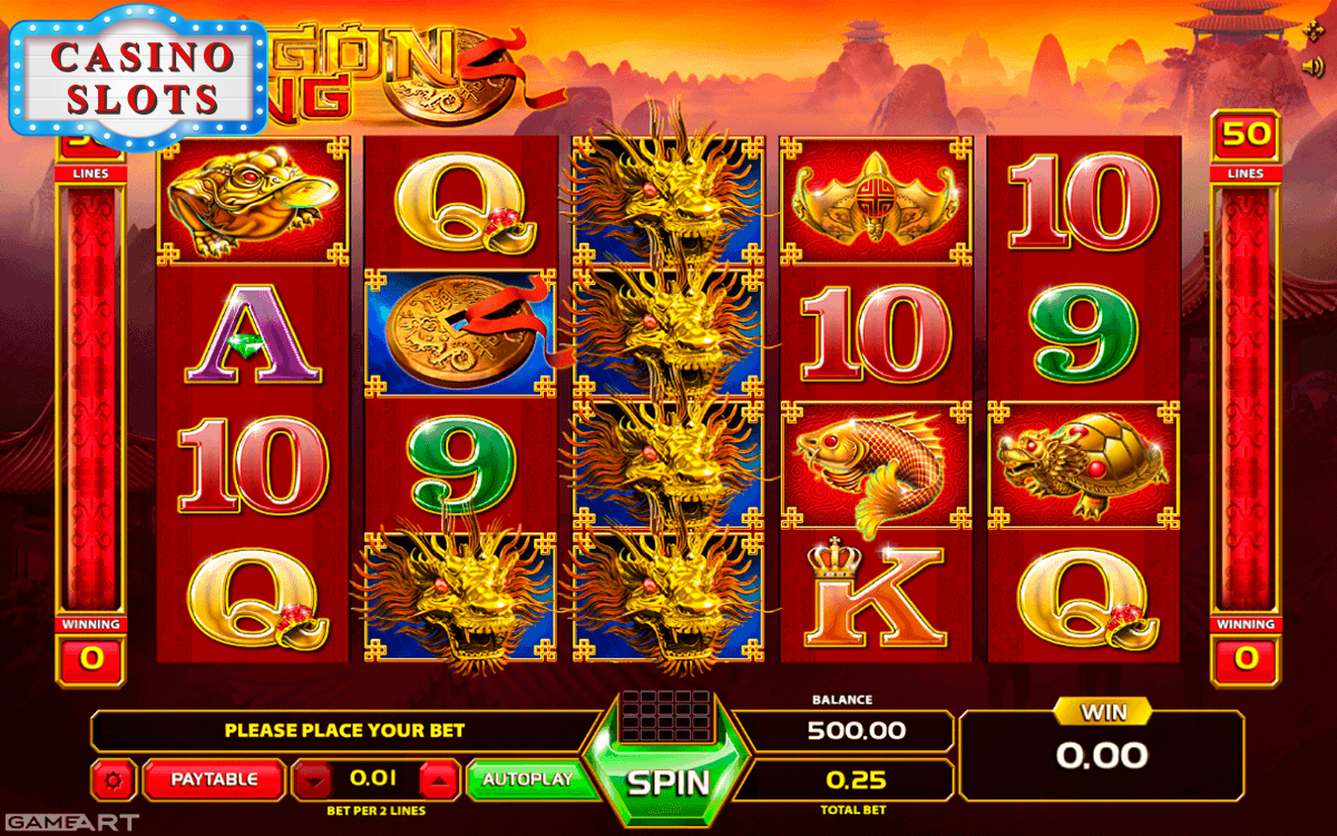 Dragon King Online Slot