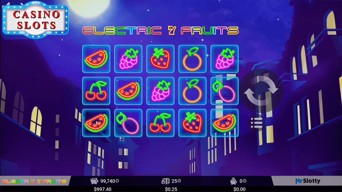 Electric 7 Fruits Online Slot