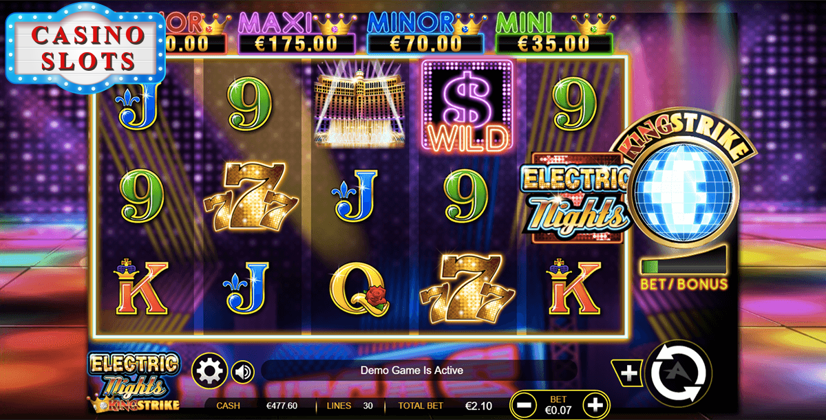 Electric Nights Online Slot