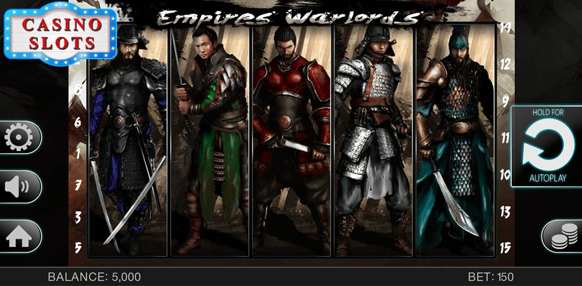 Empires Warlords Online Slot