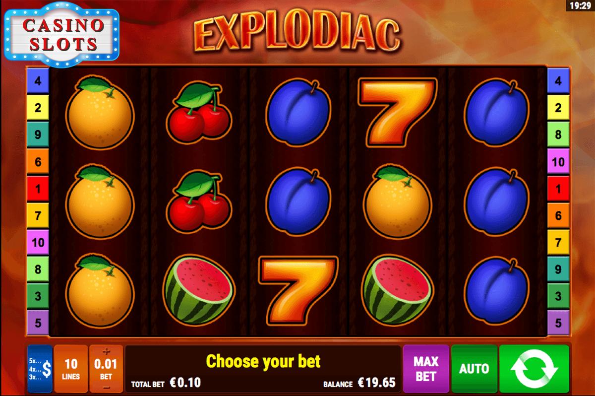 Explodiac Online Slot
