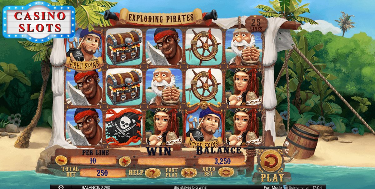 Exploding Pirates Online Slot