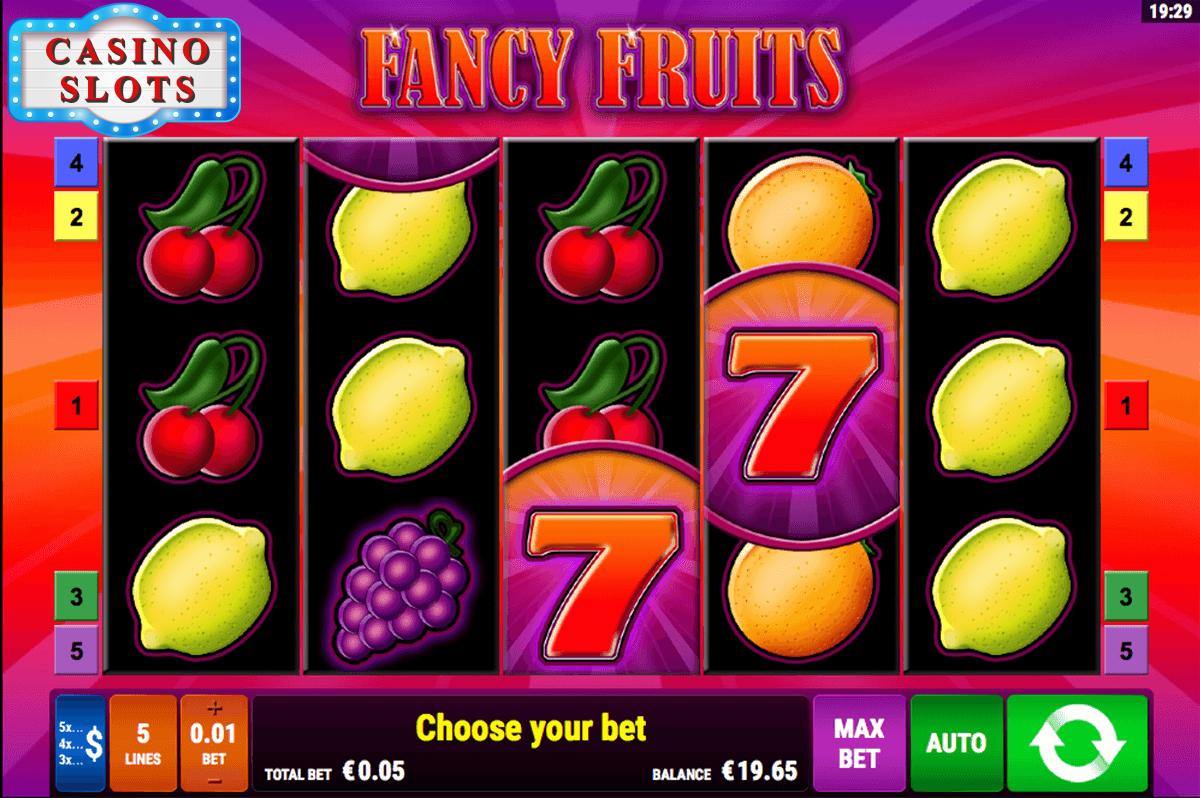 Fancy Fruits Online Slot