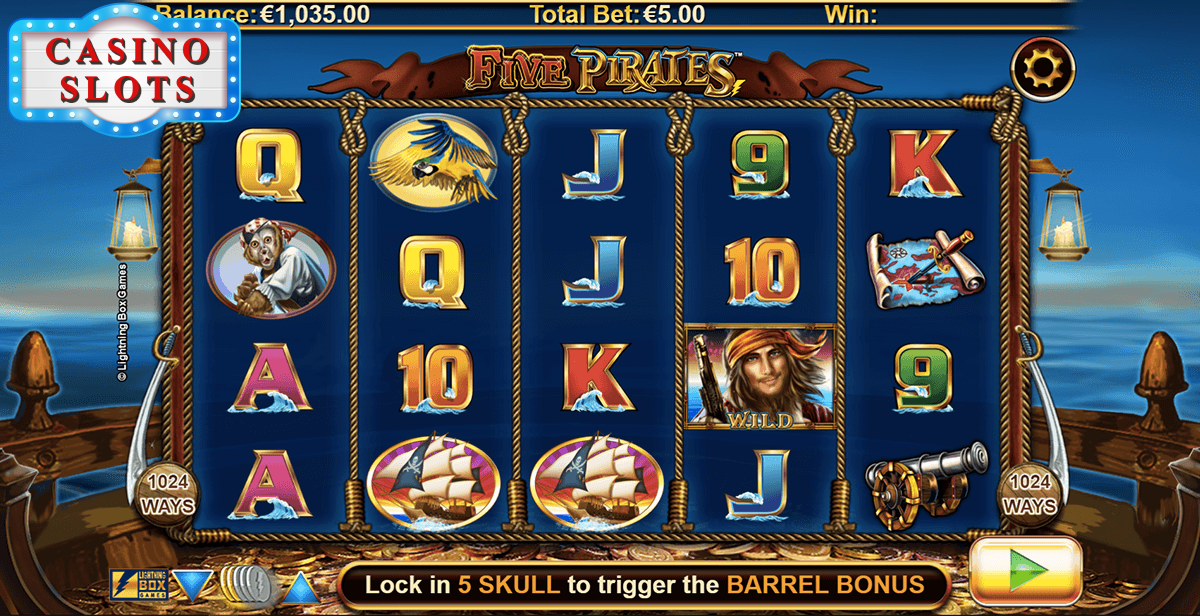 Five Pirates Online Slot