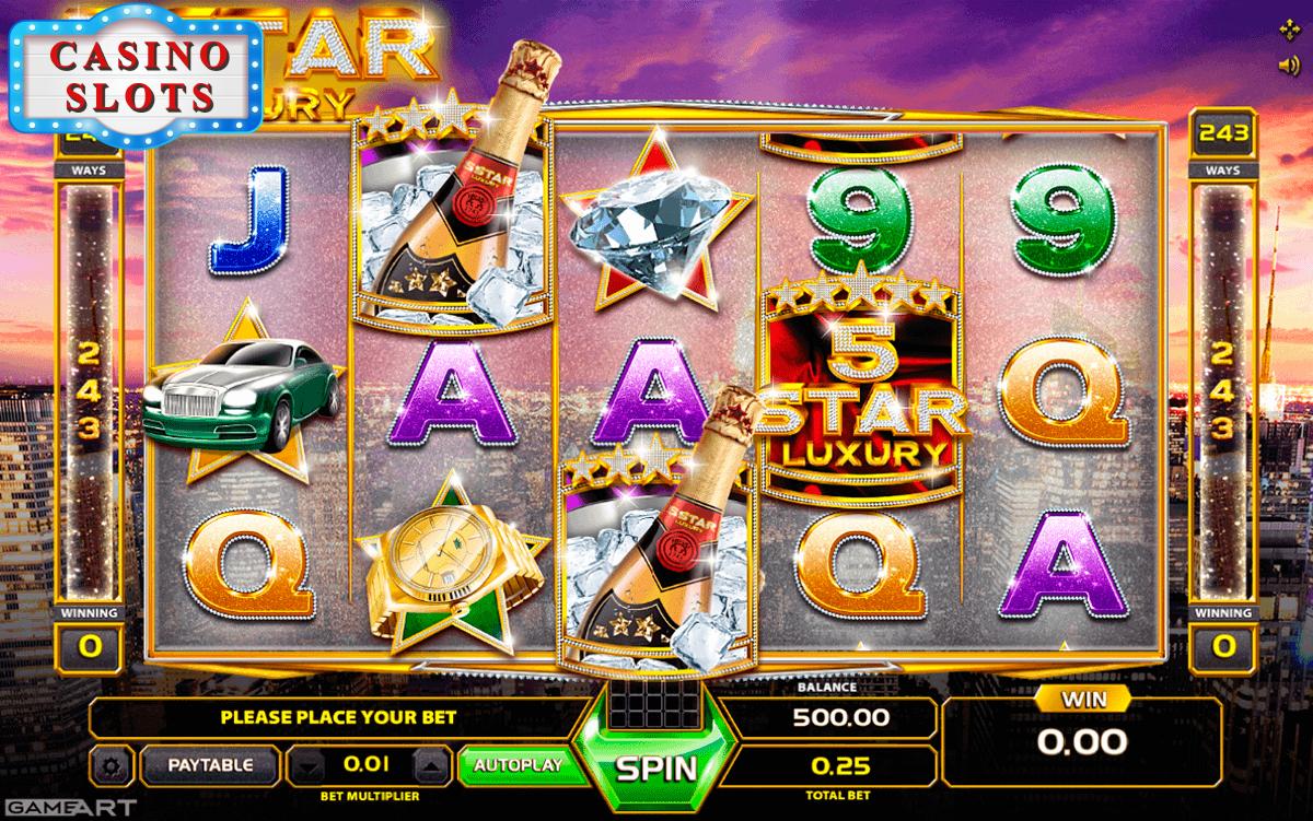 Five Star Luxury Online Slot