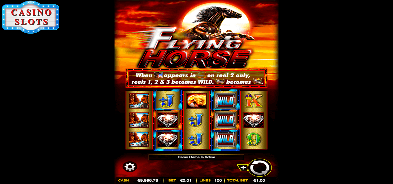 Flying Horse Online Slot