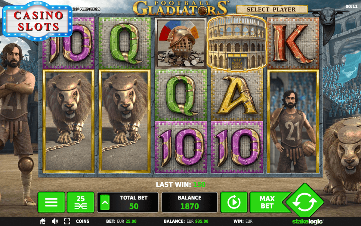 Football Gladiators Online Slot