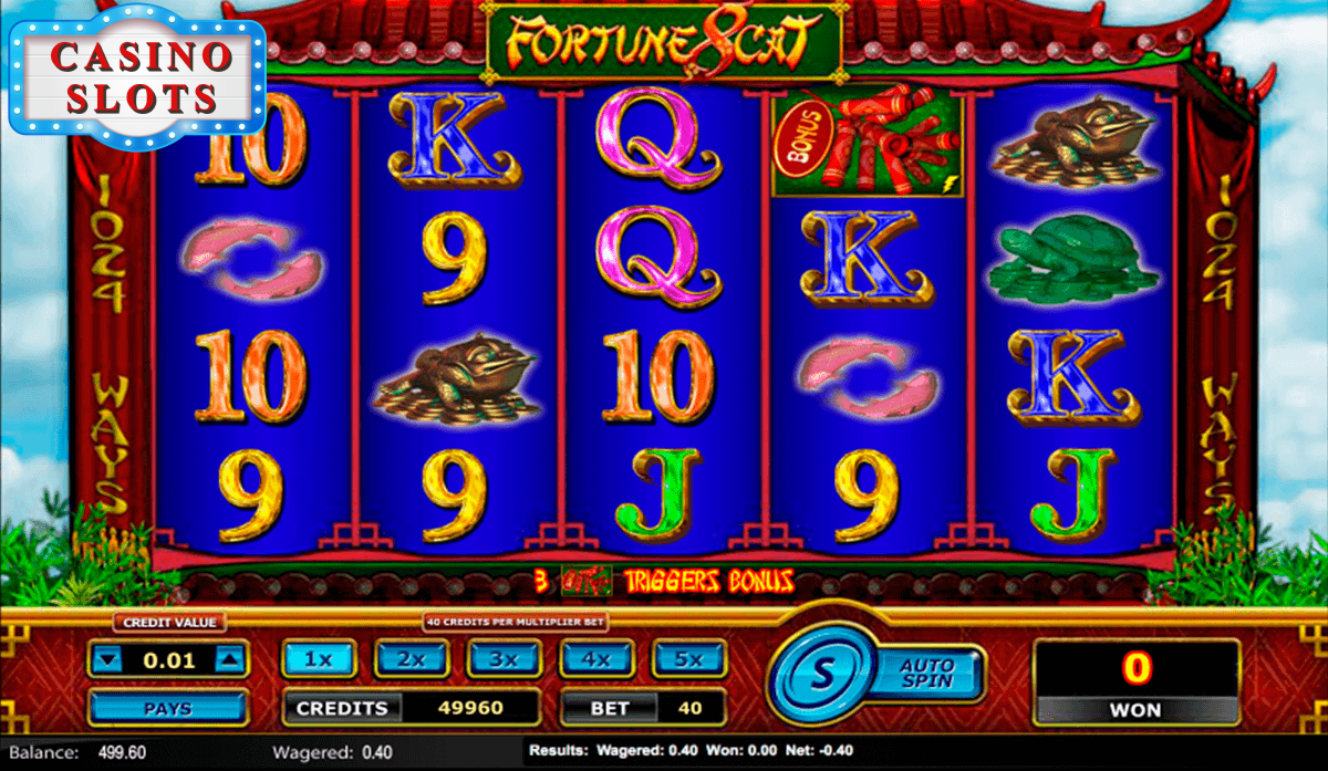 Fortune 8 Cat Online Slot