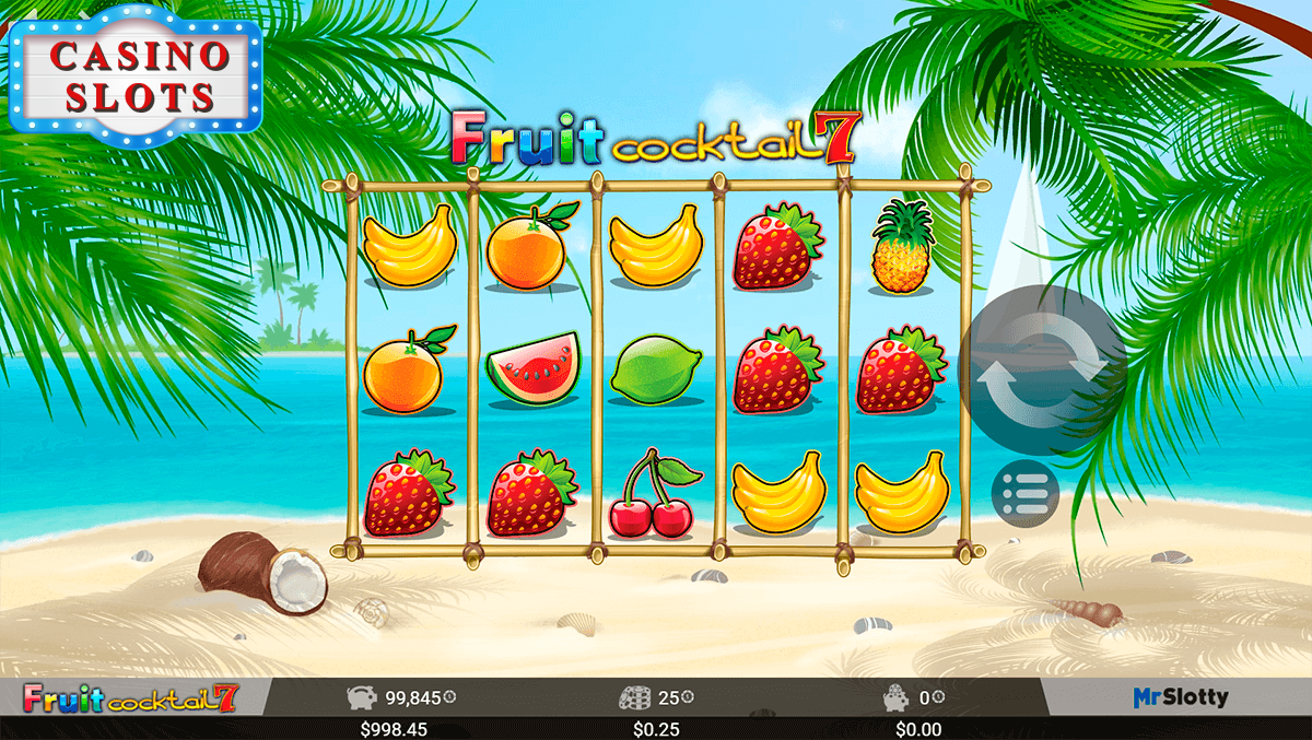 Fruit Cocktail 7 Online Slot
