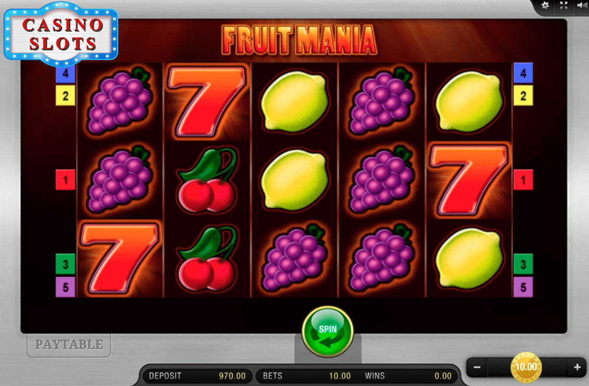 Fruit Mania Online Slot