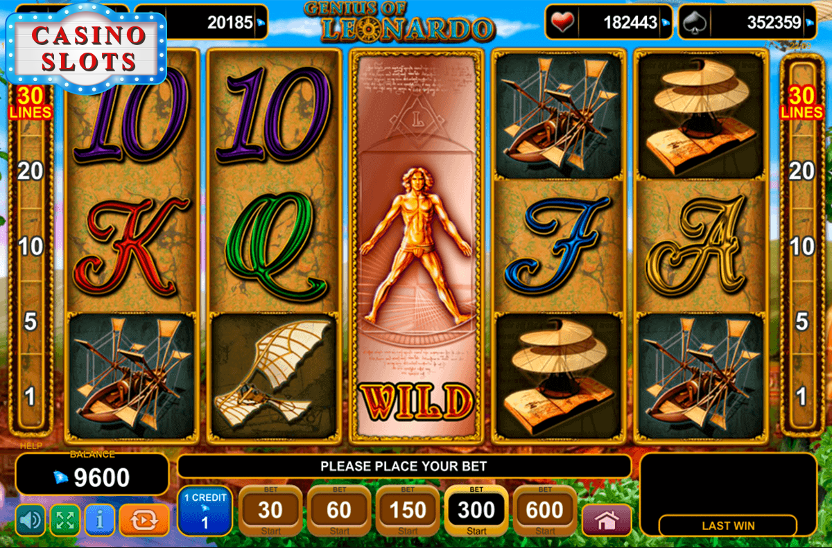 Genius of Leonardo Online Slot