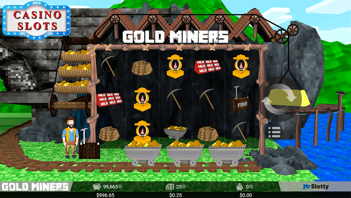 Gold Miners Online Slot