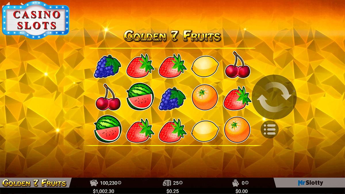 Golden 7 Fruits Online Slot