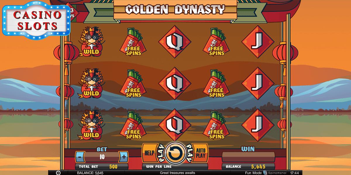 Golden Dynasty Online Slot