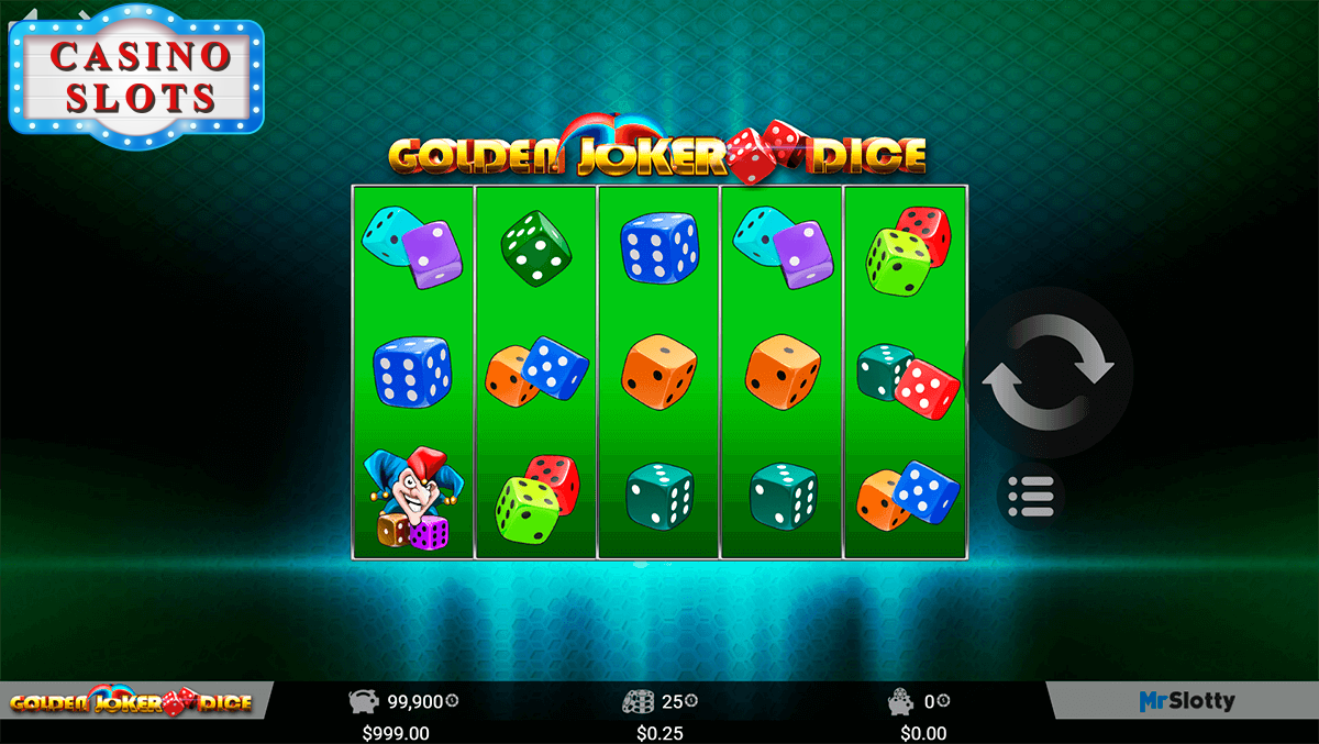 Golden Joker Dice Online Slot