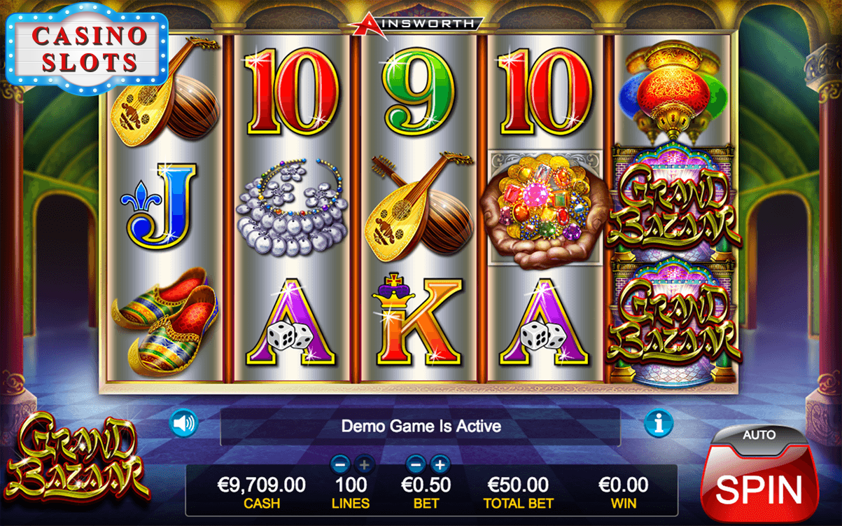 Grand Bazaar Online Slot